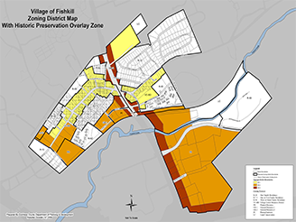interactive zoning map for Village of Fishkill